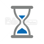 Сlipart Hourglass Sand Clock Time Timer vector icon cut out BillionPhotos
