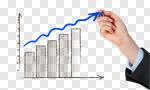 Сlipart growth profit line diagram positivity  cut out BillionPhotos
