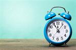 Сlipart clock alarm old retro violet photo  BillionPhotos