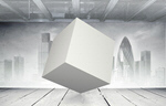 Сlipart Cube White Box Blank Single Object   BillionPhotos