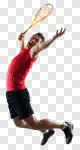 Сlipart badminton player sports man asian photo cut out BillionPhotos