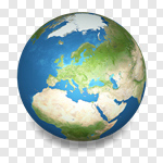 Сlipart Earth Globe Planet Nature Sphere 3d cut out BillionPhotos