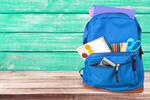 Сlipart backpack on the table school bag backpack knapsack   BillionPhotos