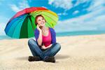 Сlipart Descriptive Color Umbrella Multi Colored Women Mobile Phone   BillionPhotos