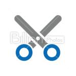 Сlipart Scissors vector icon cut out BillionPhotos