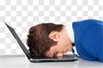 Сlipart stress stressed sad sadness worker photo cut out BillionPhotos