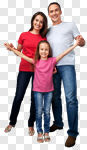 Сlipart House Family Residential Structure Real Estate Couple photo cut out BillionPhotos