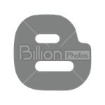 Сlipart Blogger blogger.com blogger icon sharing blogger favicon vector icon cut out BillionPhotos