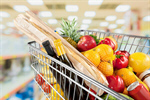 Сlipart Supermarket Shopping Groceries Shopping Cart Shelf   BillionPhotos