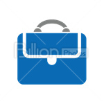 Сlipart Briefcase Bag Suitcase Office vector icon cut out BillionPhotos