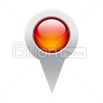 Сlipart map pin current location travel location vector icon cut out BillionPhotos