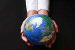 Сlipart Globe Global Communications Human Hand Responsibility World Map photo  BillionPhotos