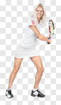 Сlipart Tennis Playing Isolated Women Female photo cut out BillionPhotos