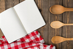 Сlipart notebook old background kitchen wood photo  BillionPhotos