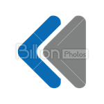 Сlipart prev previous back backward button vector icon cut out BillionPhotos