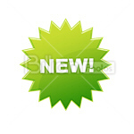 Сlipart New Sign New New tag Shopping Store sign vector icon cut out BillionPhotos