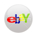 Сlipart ebay Sharing Social Media social button Bookmark vector icon cut out BillionPhotos