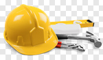 Сlipart hammer hat tool helmet builder photo cut out BillionPhotos