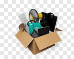 Сlipart Moving House Box Moving Office Merchandise House 3d cut out BillionPhotos