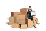 Сlipart Box Moving House Moving Office Package Cardboard   BillionPhotos