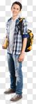 Сlipart student school man boy teen photo cut out BillionPhotos
