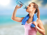 Сlipart water drink woman sweating sport   BillionPhotos