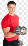 Сlipart Exercising Men Sport Gym Healthy Lifestyle photo cut out BillionPhotos