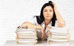Сlipart Emotional Stress Paperwork Women Boredom Lawyer   BillionPhotos