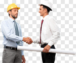 Сlipart Construction Handshake Business Human Hand Shaking photo cut out BillionPhotos