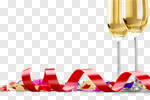 Сlipart New Year's Eve Confetti Champagne Celebration Party photo cut out BillionPhotos