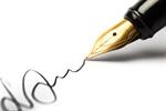Сlipart Pen Contract Signature Writing Signing photo  BillionPhotos