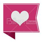 Сlipart heart heart shape heart button favorite favourite vector icon cut out BillionPhotos