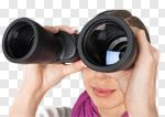 Сlipart Binoculars Finding Women Searching Surveillance photo cut out BillionPhotos
