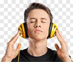 Сlipart music musical dj listen man photo cut out BillionPhotos
