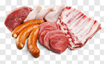 Сlipart Meat Raw Sausage Chicken Steak photo cut out BillionPhotos
