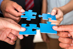 Сlipart Business Puzzle Teamwork Partnership Communication photo  BillionPhotos