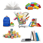 Сlipart Education Back to School Shopping School Supplies Equipment   BillionPhotos
