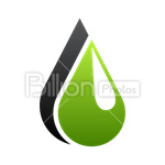 Сlipart Water Drop water drop green drop raindrop vector icon cut out BillionPhotos