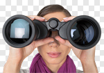 Сlipart Binoculars Finding Women Searching Surveillance photo cut out BillionPhotos