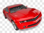 Сlipart Car Sports Car Red Luxury New 3d cut out BillionPhotos