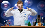 Сlipart scientist professor school lab chemistry   BillionPhotos