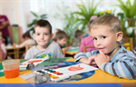 Сlipart child preschooler preschool friends white photo  BillionPhotos