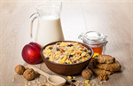 Сlipart cereal bowl granola milk oatmeal photo  BillionPhotos