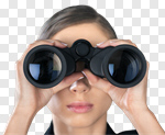 Сlipart Binoculars The Future Business Searching Finance photo cut out BillionPhotos