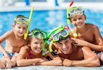 Сlipart pool swimming summer boy outdoors photo  BillionPhotos