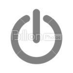 Сlipart on button off button on / off button push button power vector icon cut out BillionPhotos