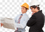 Сlipart Construction Architect Engineer Construction Site Industry photo cut out BillionPhotos