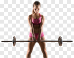 Сlipart workout black gym background heavy photo cut out BillionPhotos