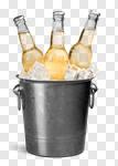 Сlipart Beer Bottle Beer Bucket Cinco De Mayo Ice photo cut out BillionPhotos