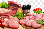 Сlipart Meat Butcher's Shop Raw Sausage Variation photo cut out BillionPhotos